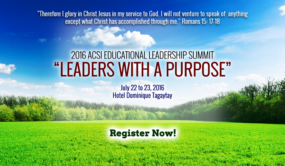 2016 ACSI Educational Learning Summit